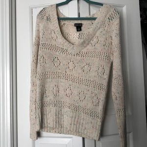 Wet Seal confetti cake sweater M